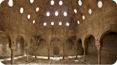 Baños Arabes del Siglo XI: El Bañuelo